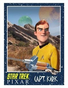 Star Trek TOS Characters in Pixar