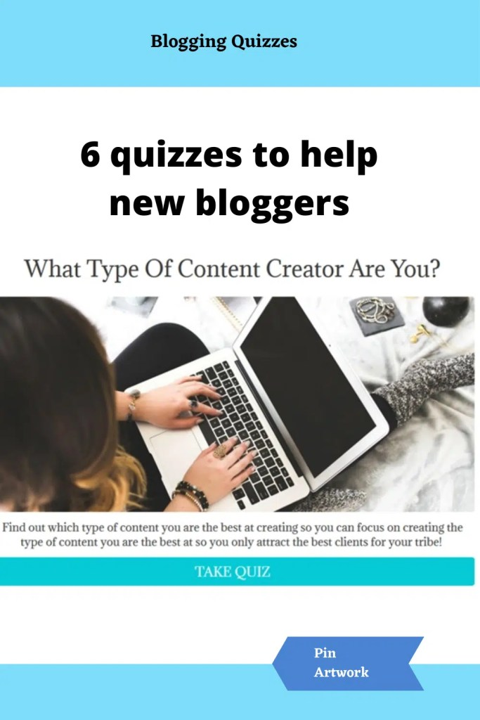 Quizzes for new bloggers 5 A blog for the love of Pinterest