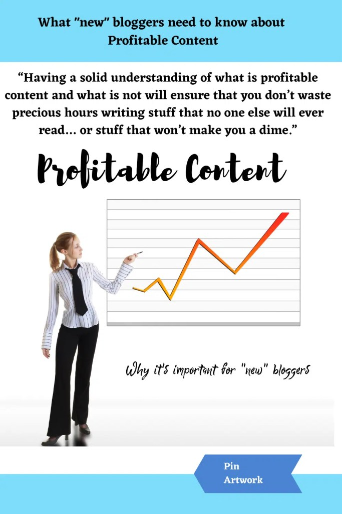 What new bloggers need to know about profitable content 1 1 A blog for the love of Pinterest