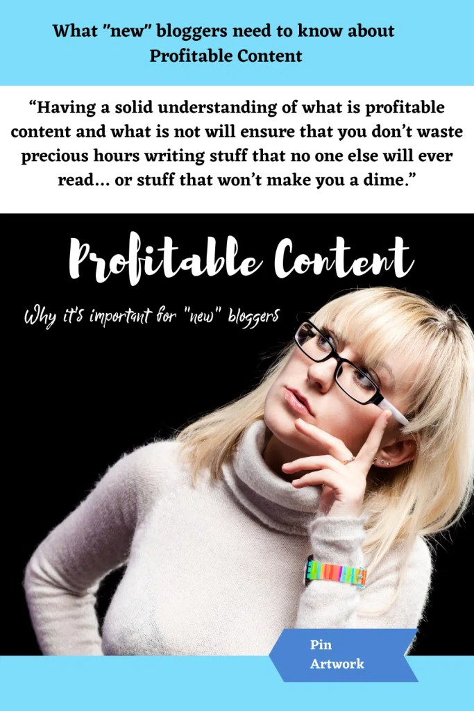 What new bloggers need to know about profitable content 10 1 A blog for the love of Pinterest