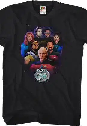 crew 30th anniversary star trek the next generation t shirt.master A blog for the love of Pinterest