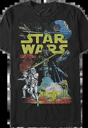 empire collage star wars t shirt.master A blog for the love of Pinterest