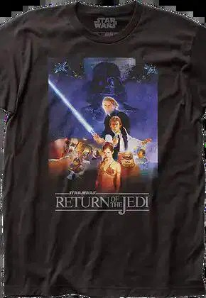 return of the jedi movie poster star wars t shirt.master A blog for the love of Pinterest