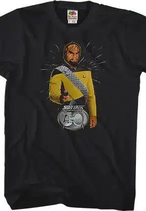 worf 30th anniversary star trek the next generation t shirt.master A blog for the love of Pinterest