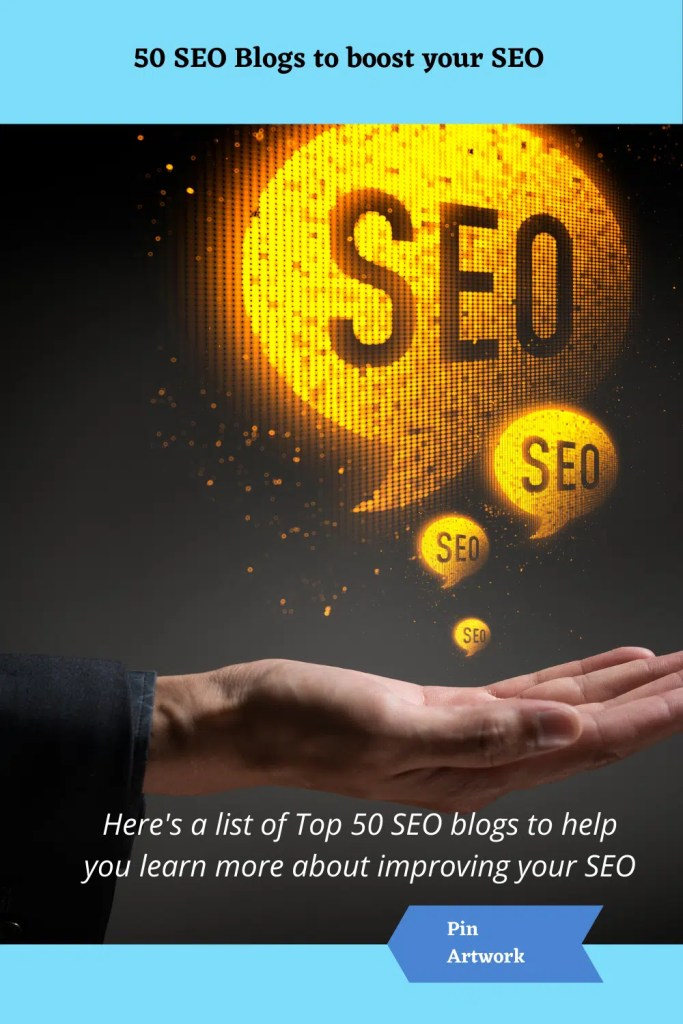50 SEO Blogs to boost your SEO 4 A blog for the love of Pinterest