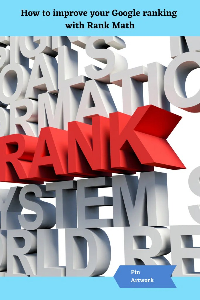 How to improve your Google Ranking with Rank Math 5 A blog for the love of Pinterest