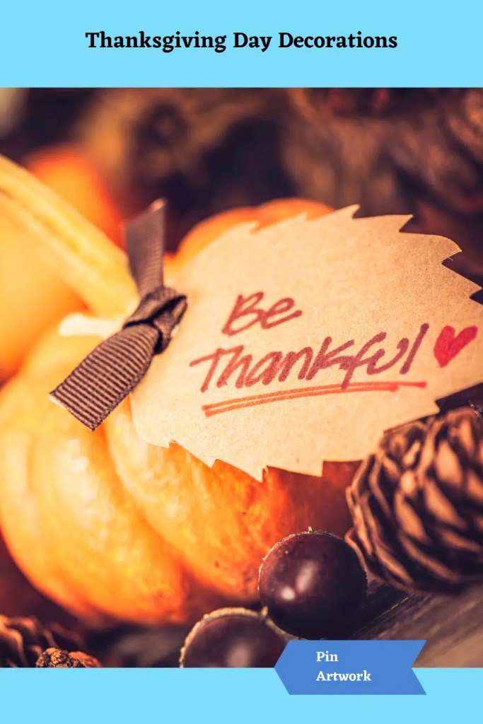 Thanksgiving Day Decorations 13 A blog for the love of Pinterest