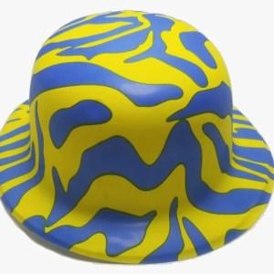 Sombrero Cebra Neón Colores Surtidos