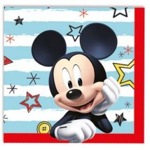 servilleta de papel de mickey mouse