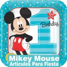Primer cumpleaños Mickey Mouse
