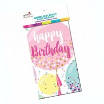 mantel rectangular happy birthday sweet balloons