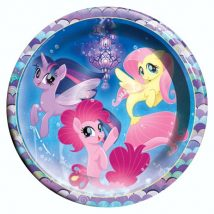 platos de carton de my little pony para fiestas
