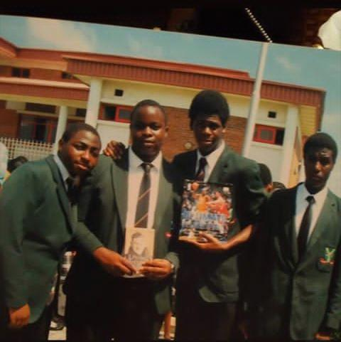 Davido Shares Funny Throwback Photo of Himself In School 1
