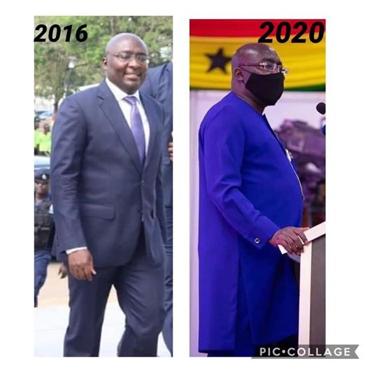 Thousands of Ghanaians react to a 2016 and 2020 Photo of Dr. Bawumia 3