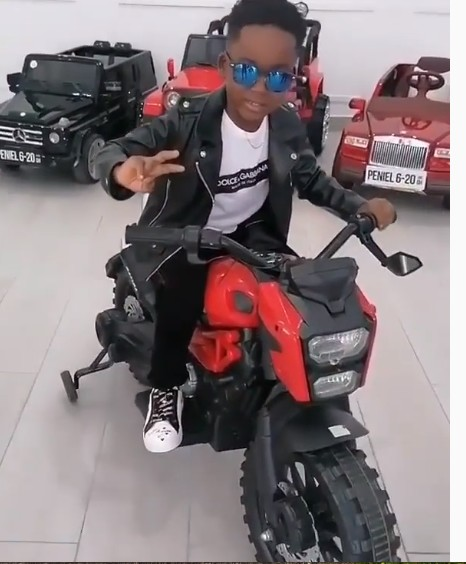 Photos Of NAM 1's Son Surfers Online As He Celebrates His Birthday. 6