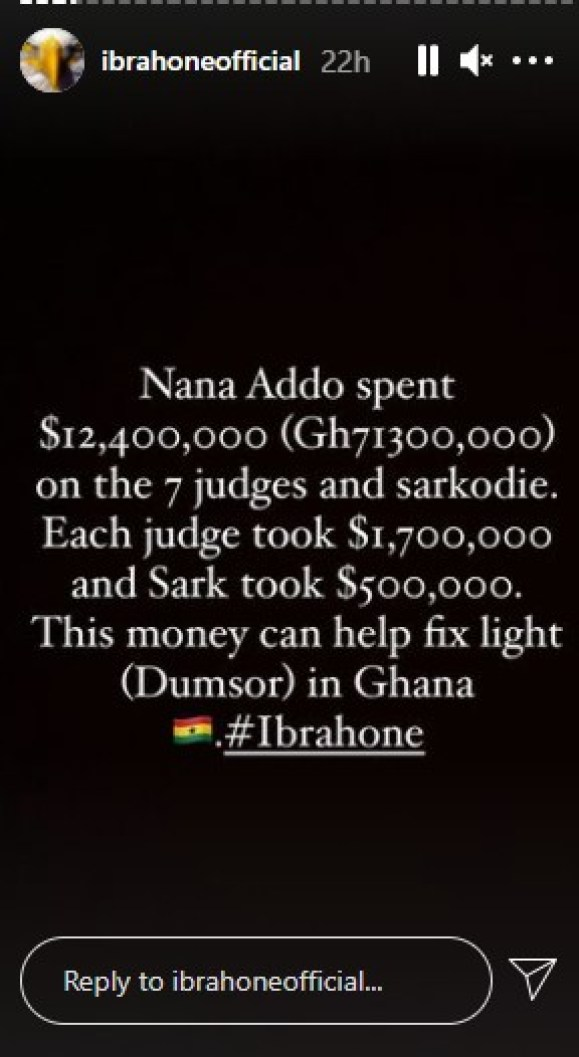 Nana Addo Bribed Sarkodie With $500,000 To Campaign For Him-Ibrah One Reveals 2