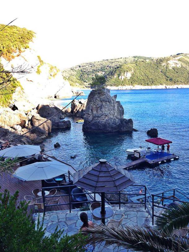 La Grotta Bar in Corfu