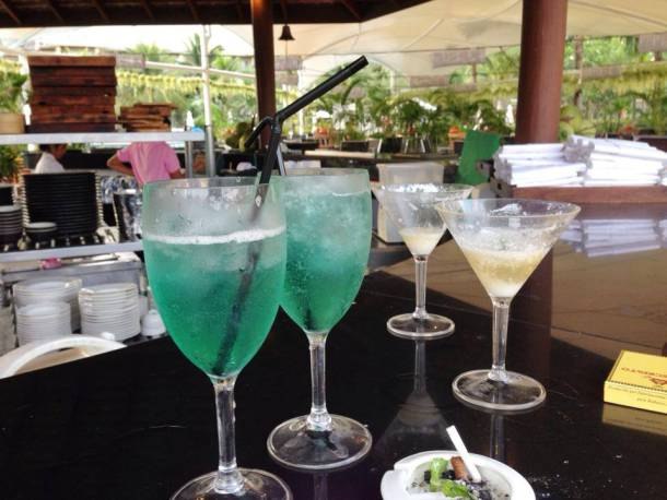 Seabreeze at the poolside bar of Sofitel Phokeethra Krabi Golf and Spa Resort