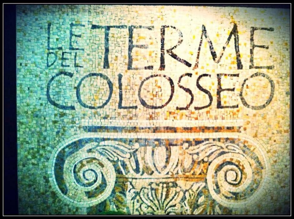 Le Terme Del Colosseo Rome Italy