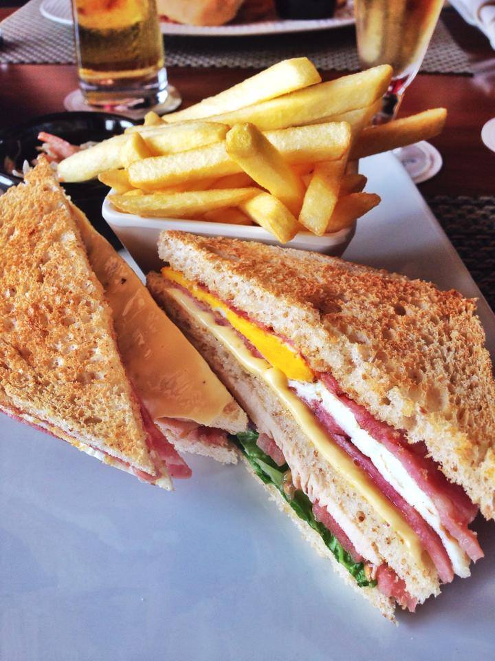 Els Club Sandwich at 261 Restaurant, The Els Golf Club