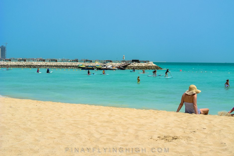 Pool and beach access Intercontinental Doha PinayFlyingHigh.com-10
