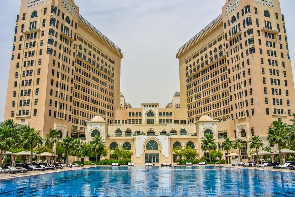 Pool And Beach Access At The St Regis Doha Pinay Flying