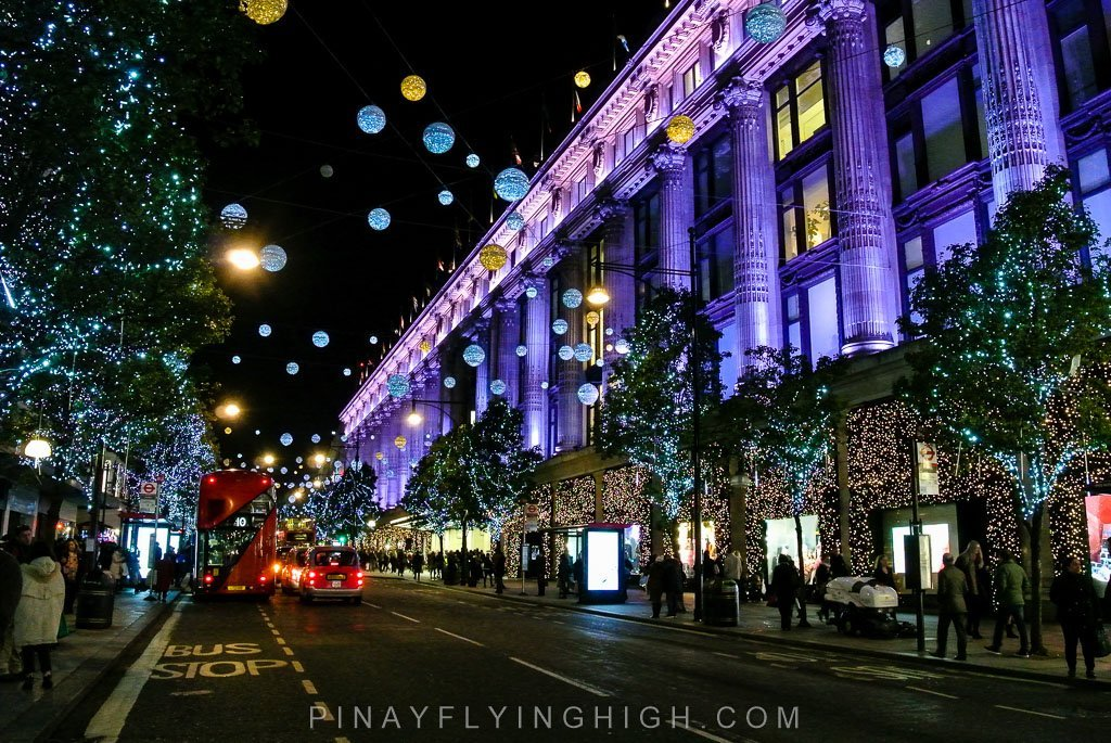 Christmas In London Christmas Walking Tour In London