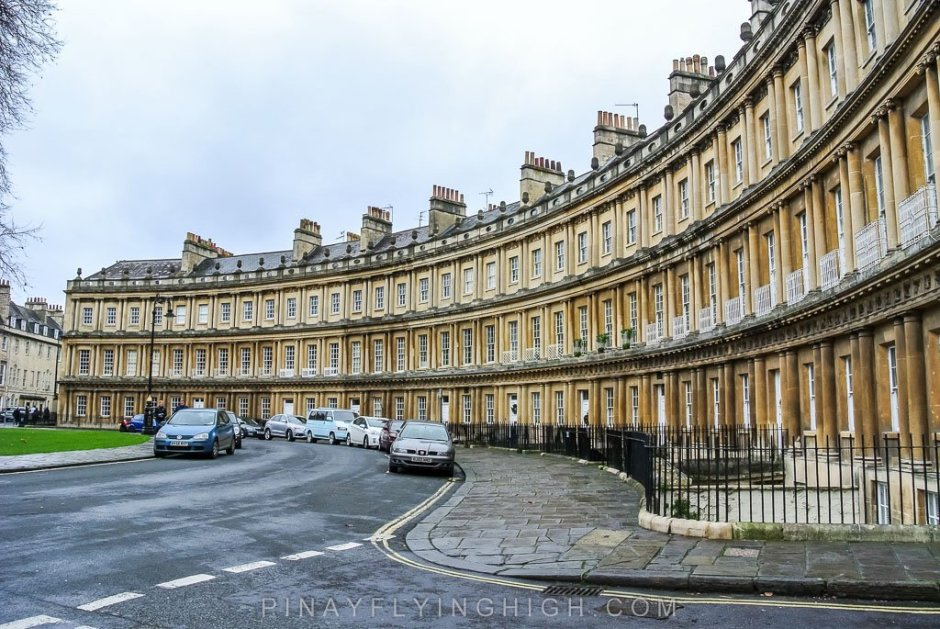 The Circus, Bath, England - PinayFlyingHigh.com