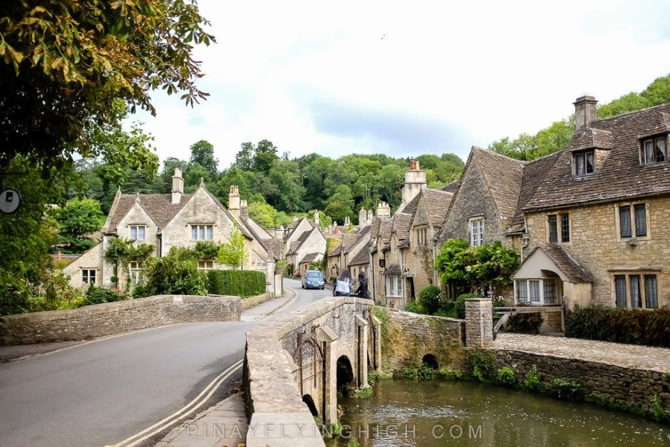 View of Castle Combe from Bybrook.