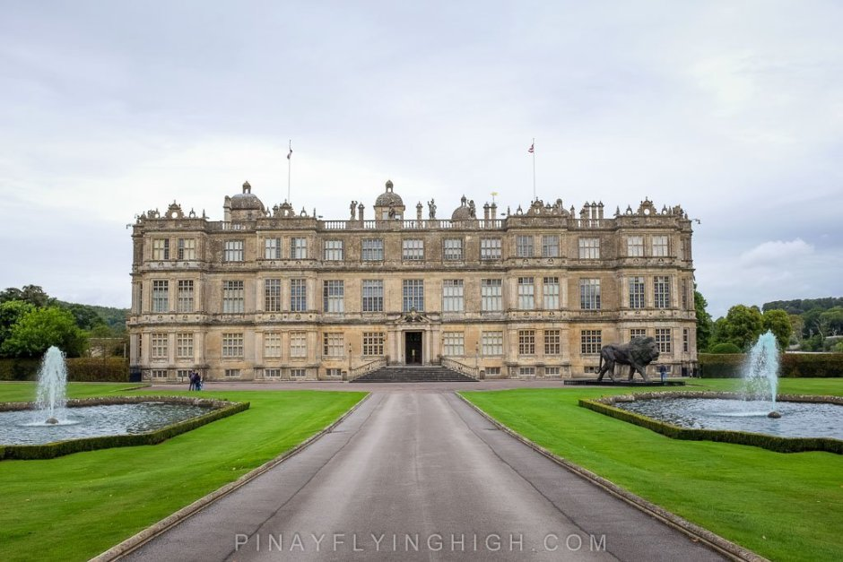 The grand and stately Longleat House.