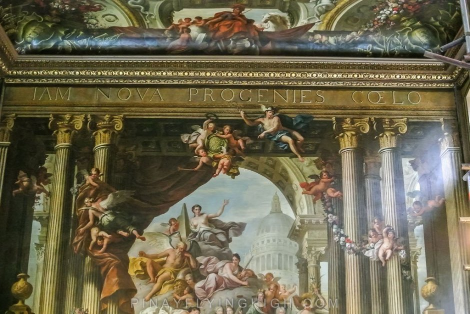 Painted Ceiling Tour, Greenwich, London - PINAYFLYINGHIGH.COM-112