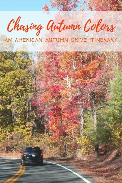 Chasing Autumn Colors in the USA: An Autumn Drive Itinerary in the US