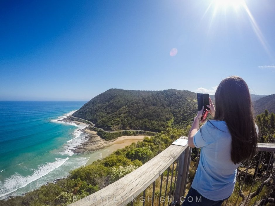 Teddy's Lookout in Great Ocean Road