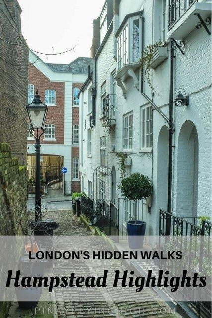 Hampstead London Walk Highlights