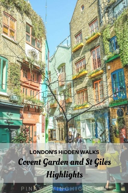 Covent Garden and St Giles Self-Guided Walk, London