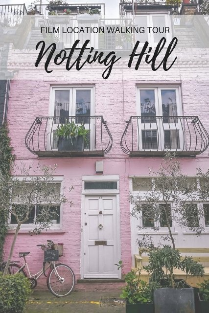 Notting Hill Film Location Tour