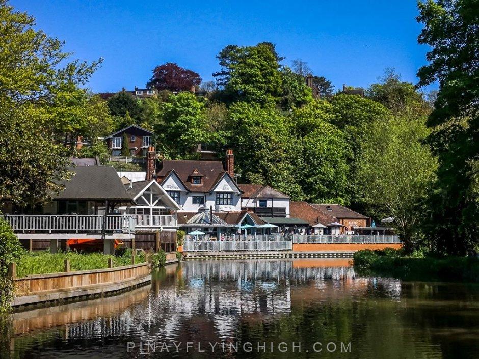 Weyside, Guildford, England