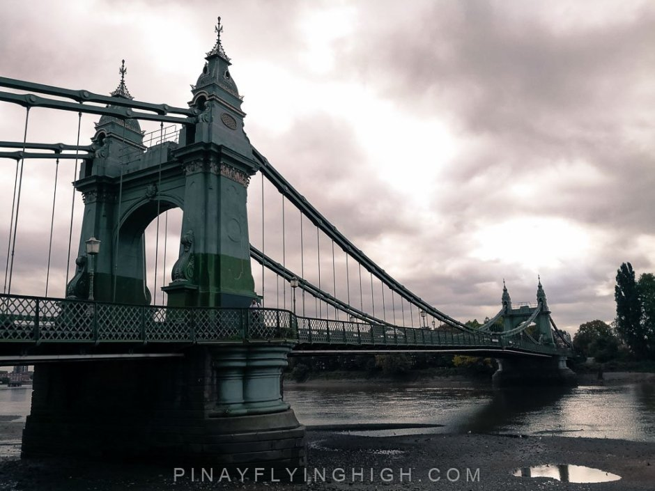 Hammersmith Bridge, London, England