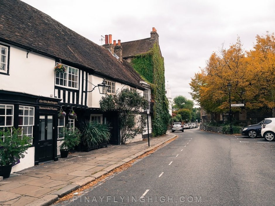Old Burlington, Chiswick, London, England