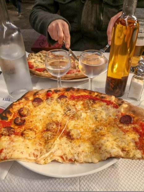 Pizza in Nice, France