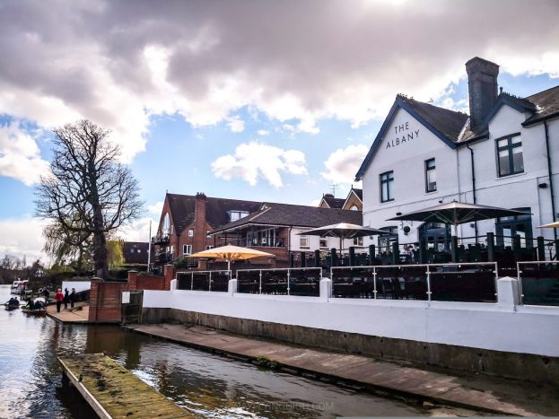 The Albany, Thames Ditton, England