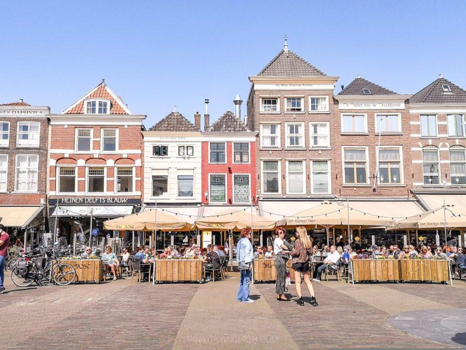 Market Square, Delft, Netherlands