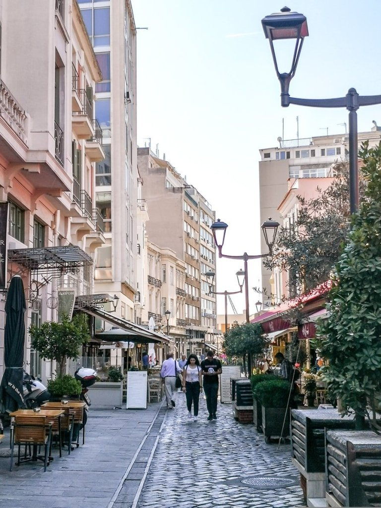 Ladadika, Thessaloniki, Greece