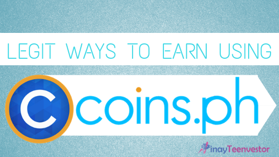 How Can I Earn Using Coins.ph?