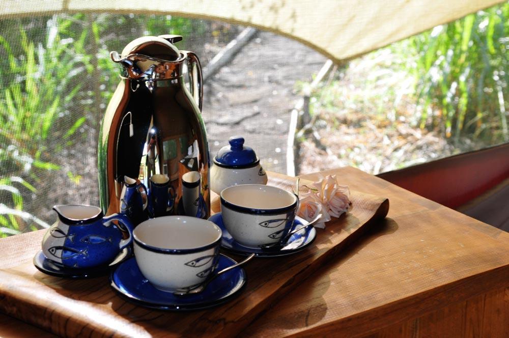 galapagos safari camp 6 Morning-coffee
