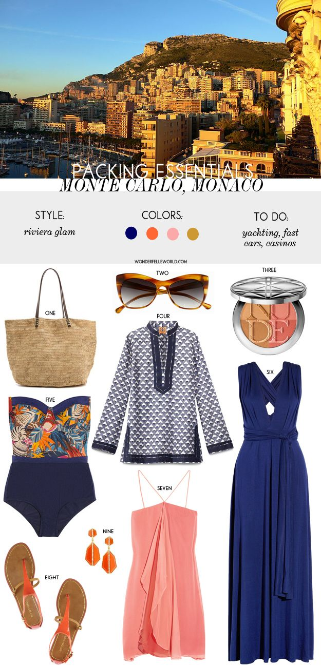 monaco travel essentials