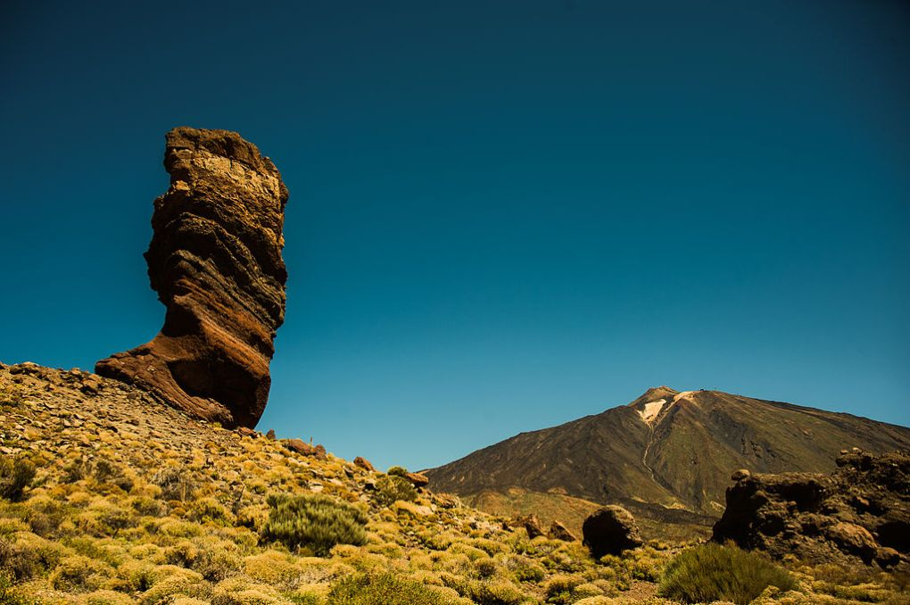 Roque Cinchado, Teide National Park (World Heritage Site). Tenerife, Canary Islands, Spain, Southwestern Europe. Photo by Mstyslav Chernov via WIkimedia Commons
