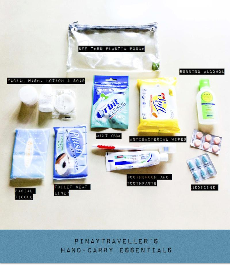 pinaytraveller-hand-carry-essentials sm