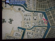 Ancien plan d'Edo