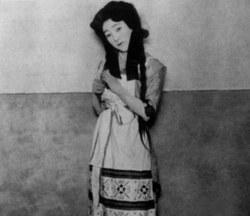 Mizoguchi et l'actrice Sumako
